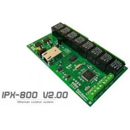 Carte ethernet 8 relais IPX800 V2.00