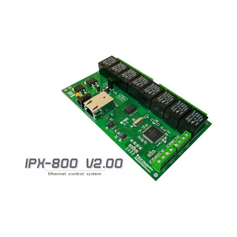 8 relay board internet controller