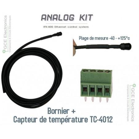 Kit température  pour carte relais ethernet IPX-800