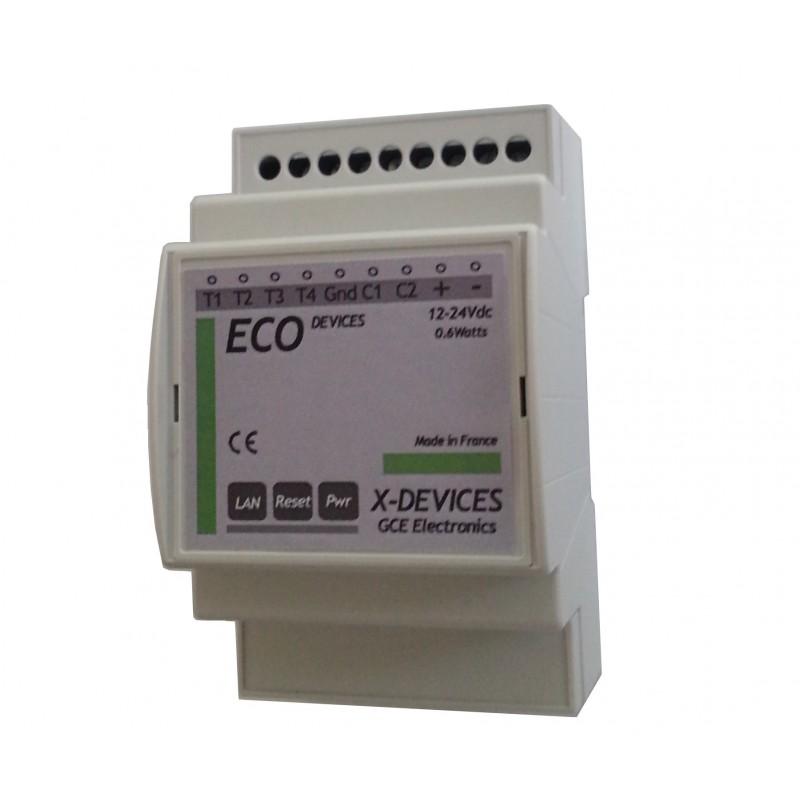 Eco-Devices Téléinfo, suivi conso.
