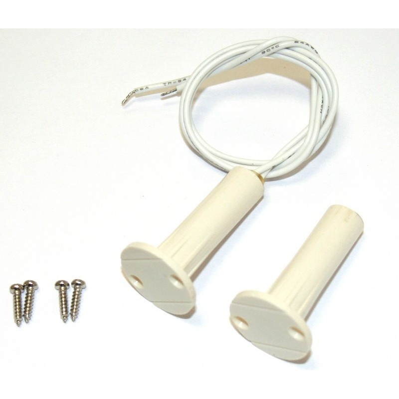 Recessed magnetic sensor