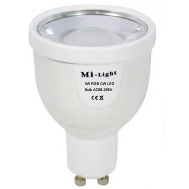 Lampe LED RGBW GU10 4W