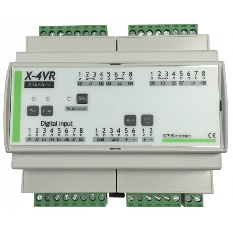 IPX800 V4 - Roller shutter controller- X-4VR