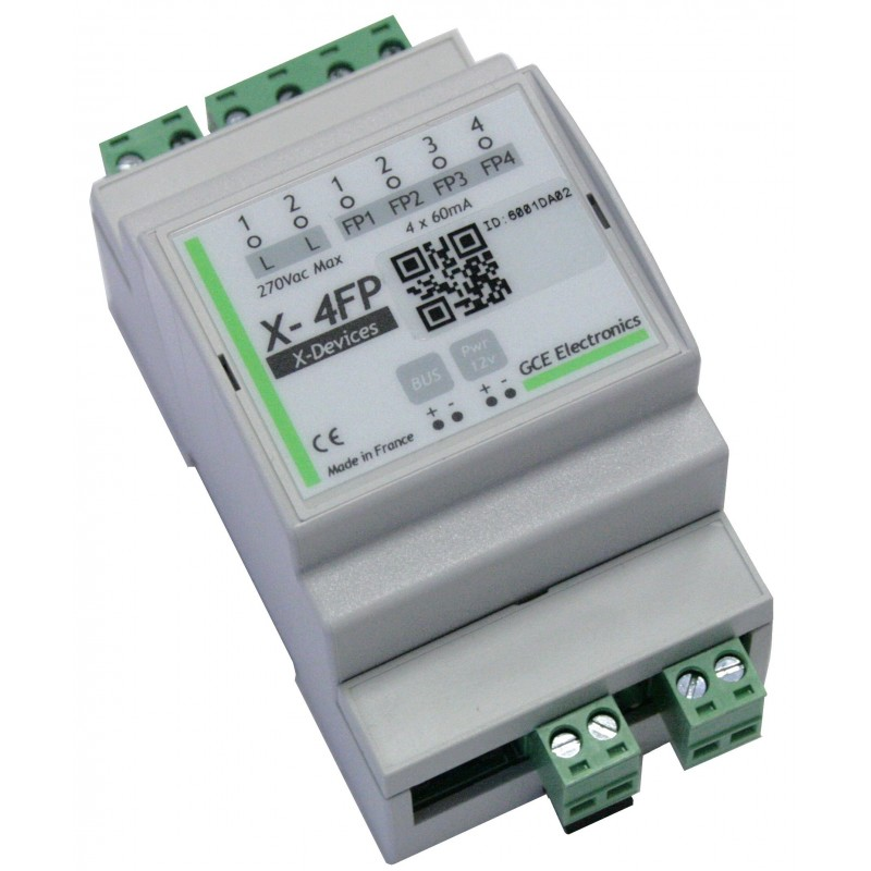 Extension fil pilote X-4FP pour IPX800 V4