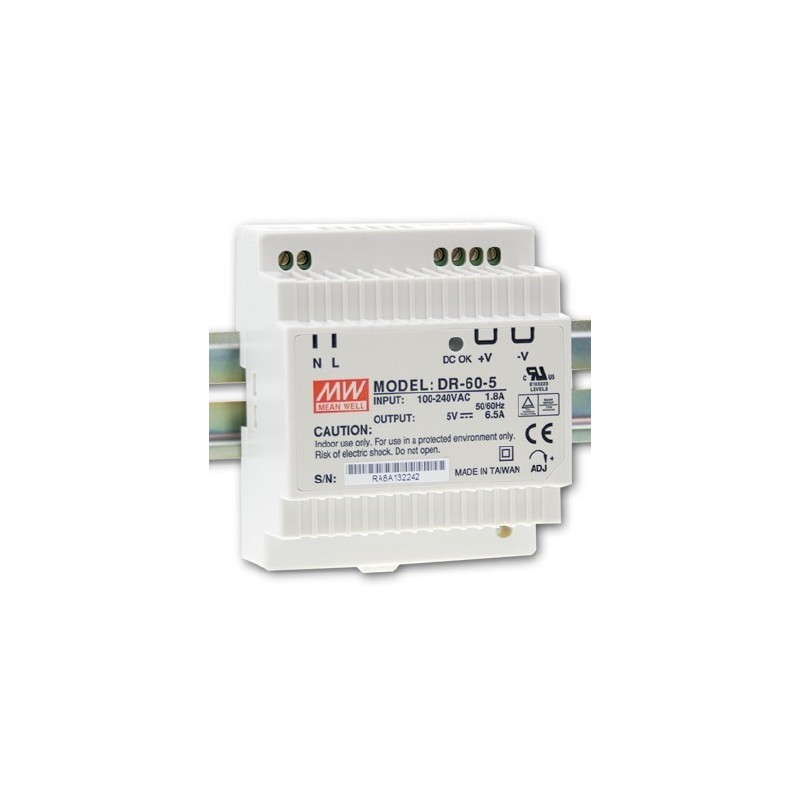 Alimentation 12V  Rail Din  4.5A IPX 800 V3 & V4