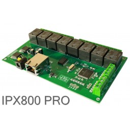 Serveur IP 8 Relais Ethernet IP-X800