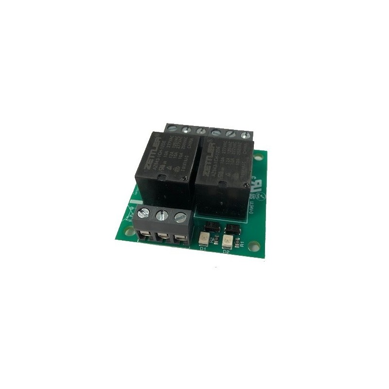 Map relay 12V for open collector outputs